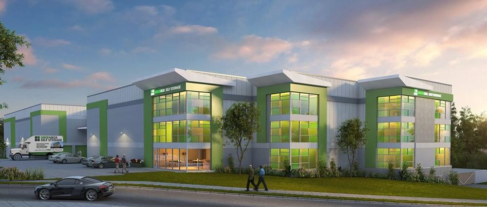 Green Box Architecture greenbox storage centennial studio dhstudio dh